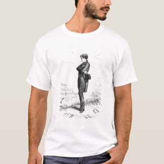 Left alone, Rastignac walked a few steps T-Shirt