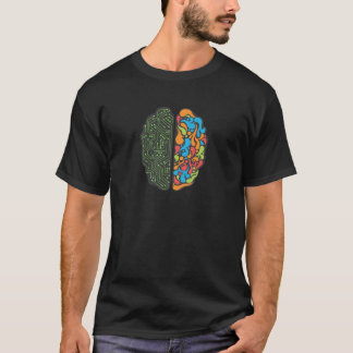Left and Right Brain T-Shirt