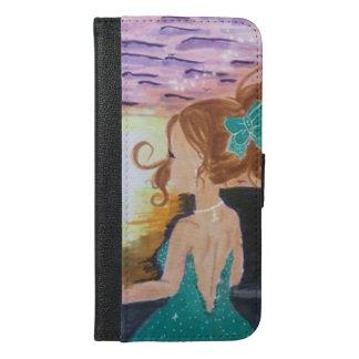 Left At The Pier iPhone 6/6s Plus Wallet Case