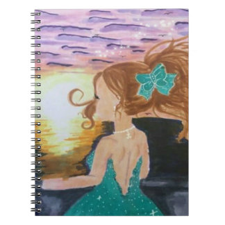 Left At The Pier Spiral Notebook
