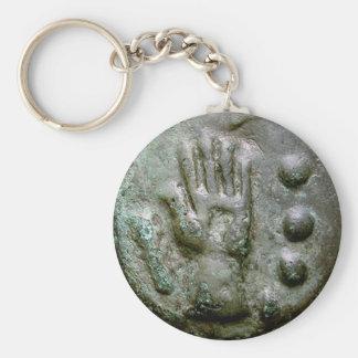 Left Hand Aes Grave Quadrans Keychain