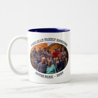 left handed mug for pohlman family reunion