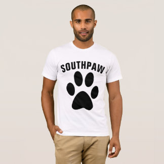 LEFT-HANDED T-Shirts, SOUTHPAW Tees