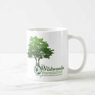 Left-handed Wildwoods Logo Mug with Motto
