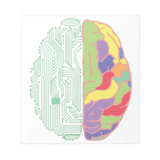 Left & Right Brain Notepads