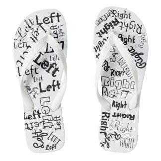 Left Right Flipflops Flip Flops