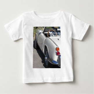 Left side of an old british classic car baby T-Shirt