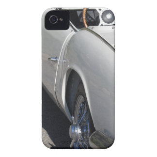Left side of an old british classic car iPhone 4 Case-Mate cases