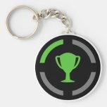 Left the Couch - Achievement Unlocked Basic Round Button Keychain