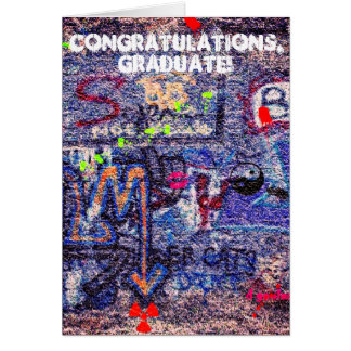 Left Their Mark Graduation Card