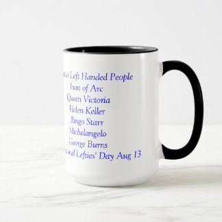 Lefties Only Coffee Mug