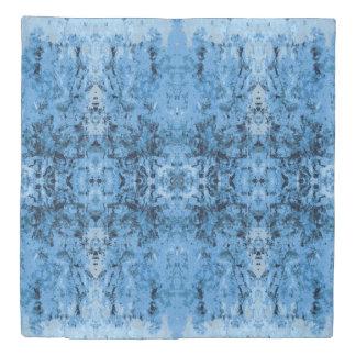'Leftovers' Blue Pattern Duvet Cover