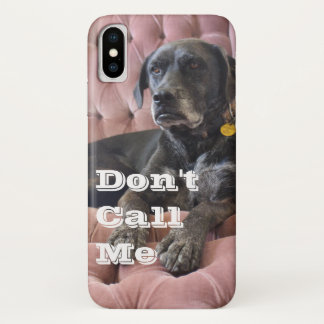 "Lefty ""Don't Call Me"" iPhone Case - X"