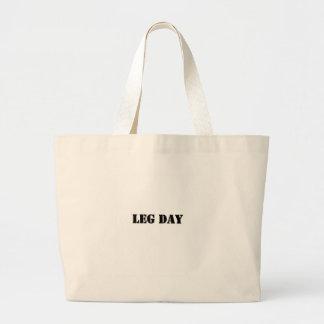 leg day black jpg canvas bags