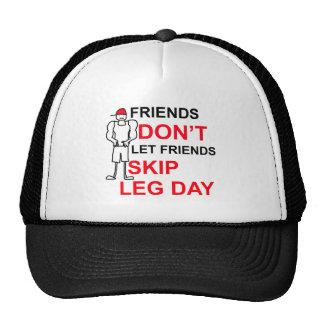 LEG DAY copy png Hat