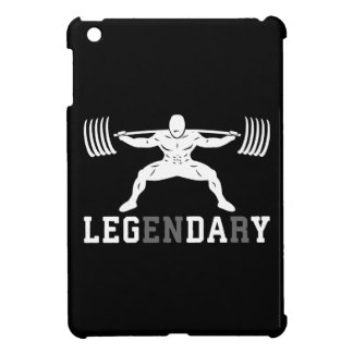 Leg Day - Legendary - Squat - Gym Inspirational Case For The iPad Mini