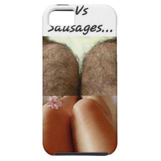 Leg Selfies Vs Sausages... iPhone 5 Cover