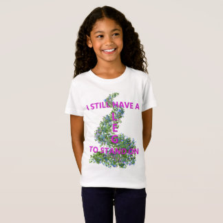 Leg To Stand On, flowers T-Shirt