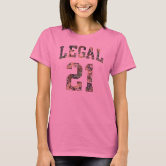 Legal 21 funny birthday T-Shirt