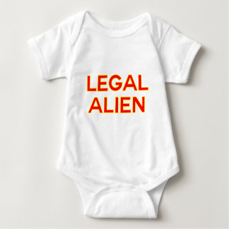 Legal Alien | Funny Take on Immigration Reform Baby Bodysuit