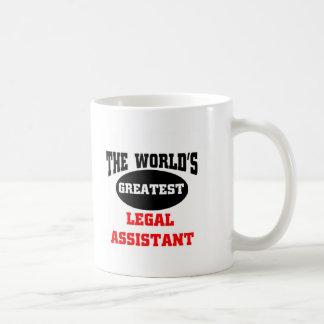 Legal assistant coffee mug