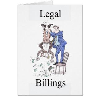 Legal Billings greetings card