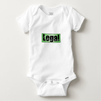 Legal Dreamer Baby Onsie Baby Onesie