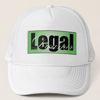 Legal Dreamer White Baseball Cap