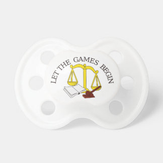 Legal Games Baby Pacifier