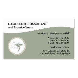 Legal Nurse Practitioner Business Card