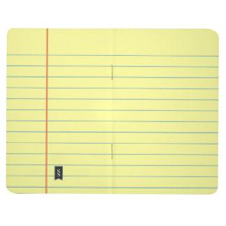 Legal Pad Pattern Journal