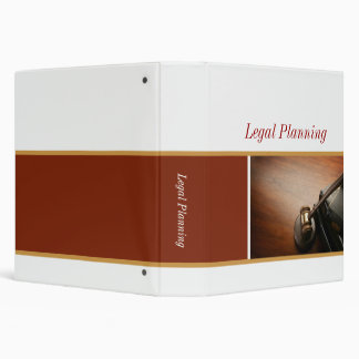 Legal Planning Binders