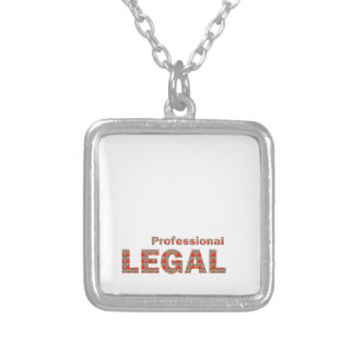 LEGAL professional Law Court Freedom LOWPRICE gift Silver Plated Necklace