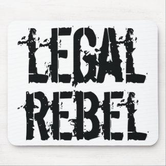 Legal Rebel mouse pad
