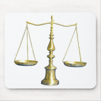 Legal Scales Mousepad