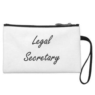 Legal Secretary Artistic Job Design Wristlet Purses
