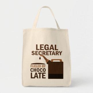 Legal Secretary (Funny) Chocolate Bag
