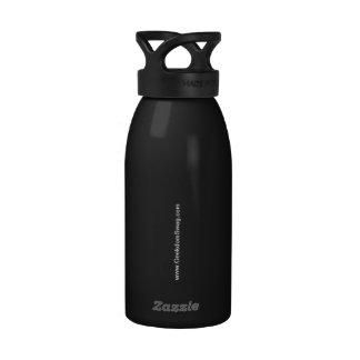 Legal stuff is HARD water bottle (Black)