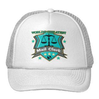 Legal World's Greatest Mail Clerk Trucker Hat