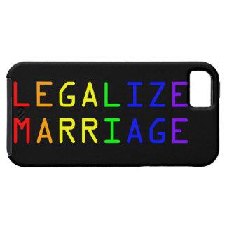 Légalisez le mariage coques iPhone 5