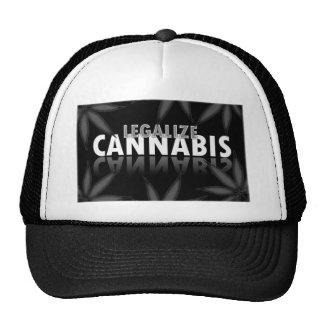 legalize-cannabis trucker hat