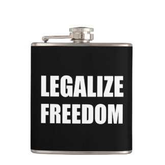 Legalize Freedom Flasks