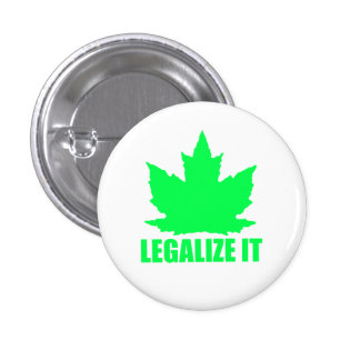 Legalize Maple 1 Inch Round Button