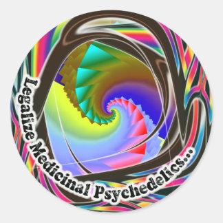 Legalize Medicinal Psychedelics Sticker