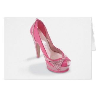 legally pink shoes card
