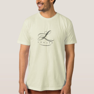 Legato Organic t-shirt w/black logo