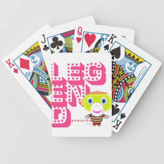 Legend-Cute Monkey-Morocko Bicycle Playing Cards