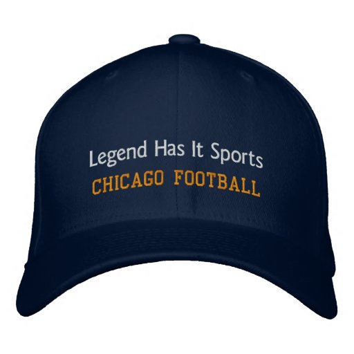 Legend Has It Sports/Chicago Football Embroidered Hats