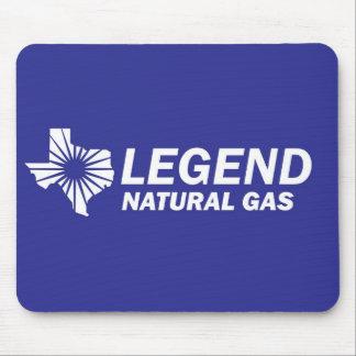 Legend Natural Gas 4 Mouse Pad