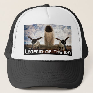 Legend of the sky customizable trucker hat